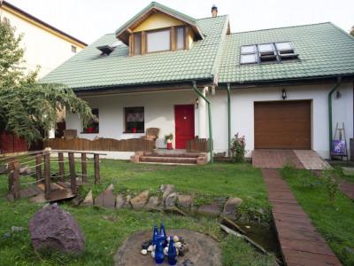 Vanzare casa P+1 curte idilica in Popesti Leordeni, 5 min de Primarie
